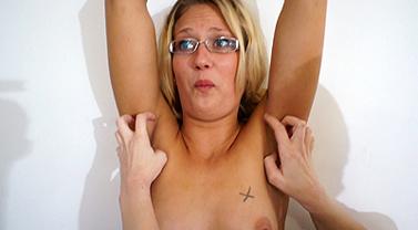 JC Simpson's upper body tickle torture