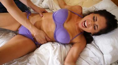 Jasmine Mendez is Bruttaly Tickled